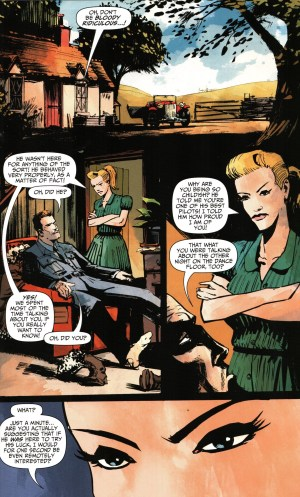 Garth Ennis: Out of the Blues