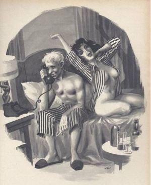 Die erotische Kunst des Wally Wood