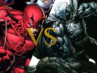 Moon Knight vs Daredevil