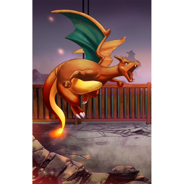 Charizard The Bridge