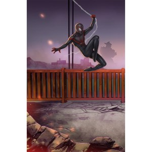Miles Morales Spider-man The Bridge