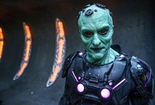 "KRYPTON -- ""The Phantom Zone"" Episode 110 -- Pictured: Blake Ritson as Braniac -- (Photo by: Steffan Hill/Syfy)"