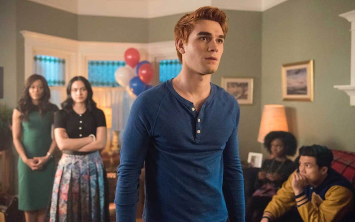 "Riverdale -- ""Chapter Thirty-Five: Brave New World"" -- Pictured: KJ Apa as Archie"