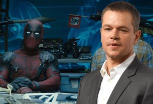 deadpool 2 matt damon