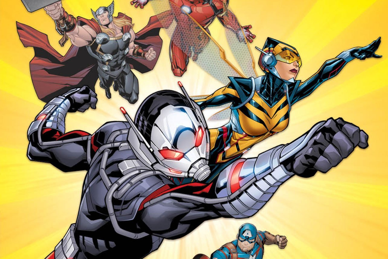 Marvel Comics Digest #7: Ant-Man And The Wasp