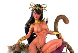 Women of Dynamite Dejah Thoris J. Scott Campbell Inspired Diorama Statue