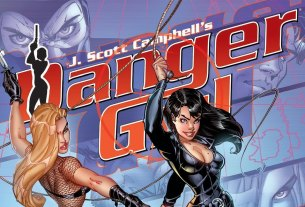 J. Scott Campbell's Danger Girl Gallery Edition Danger Girl Pin-up Book