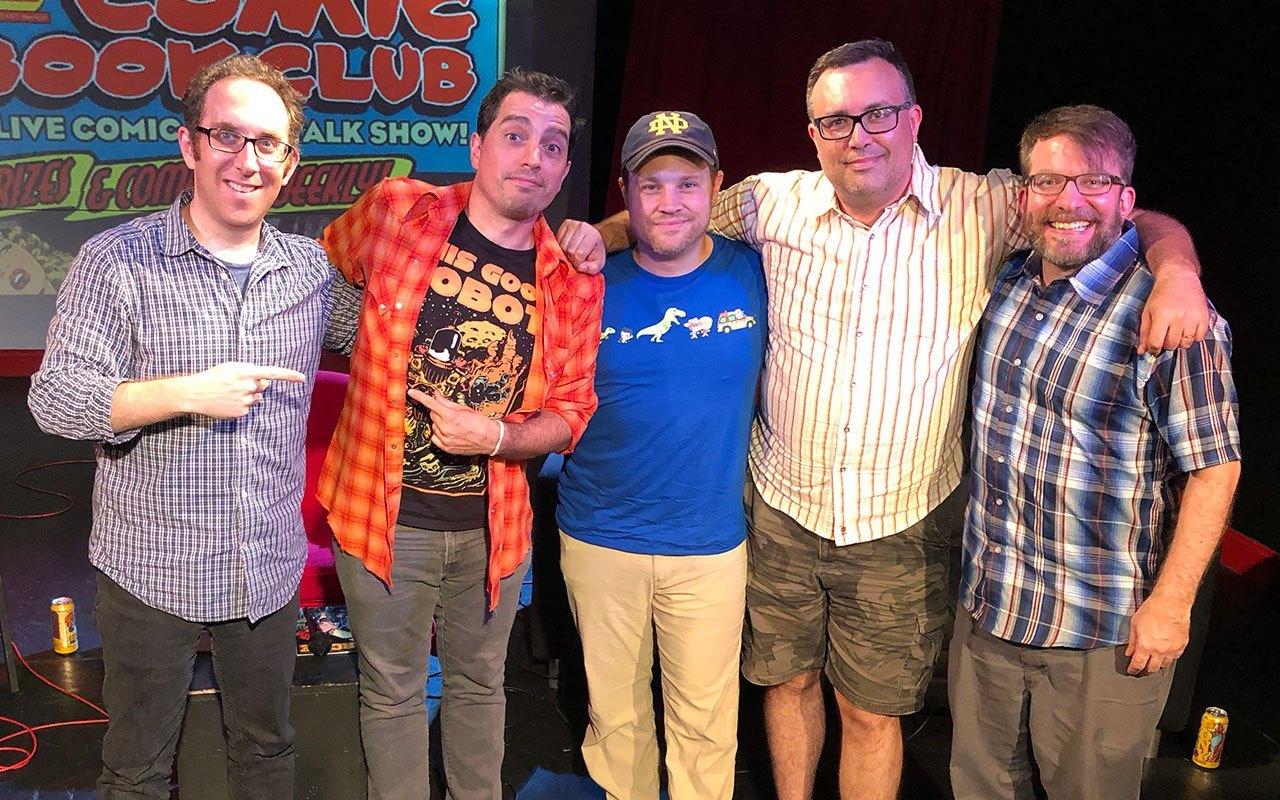 Comic Book Club - Shaun Harris and Fred Van Lente