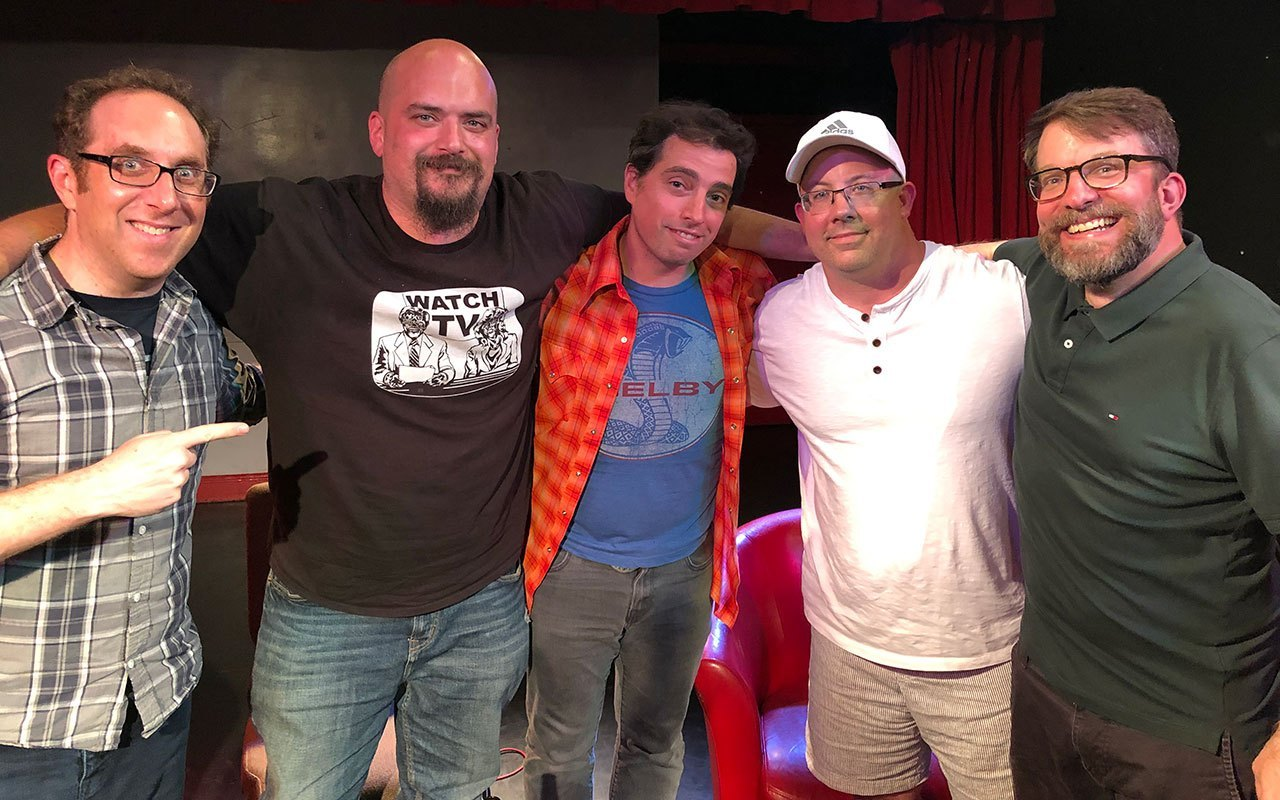 comic book club rich douek and joe mulvey
