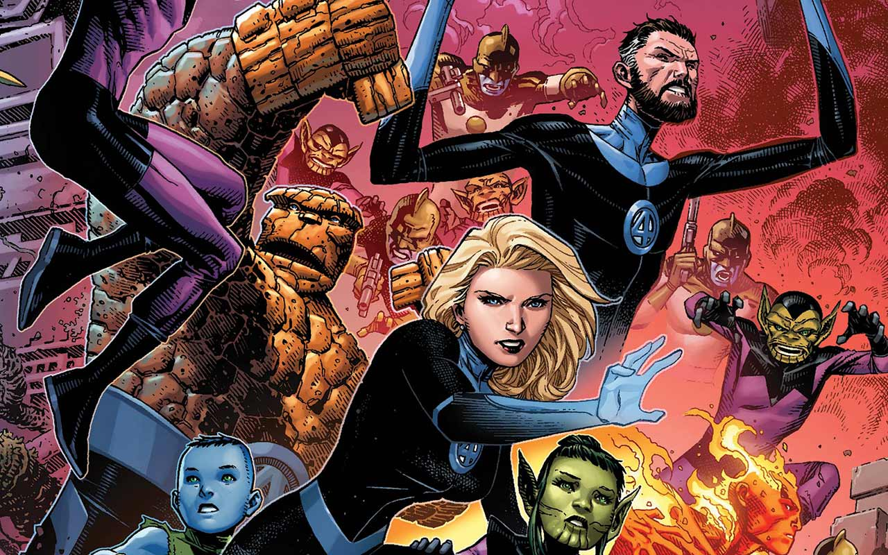 Fantastic Four: Empyre #0