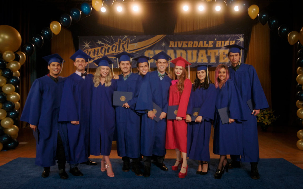 riverdale - graduation