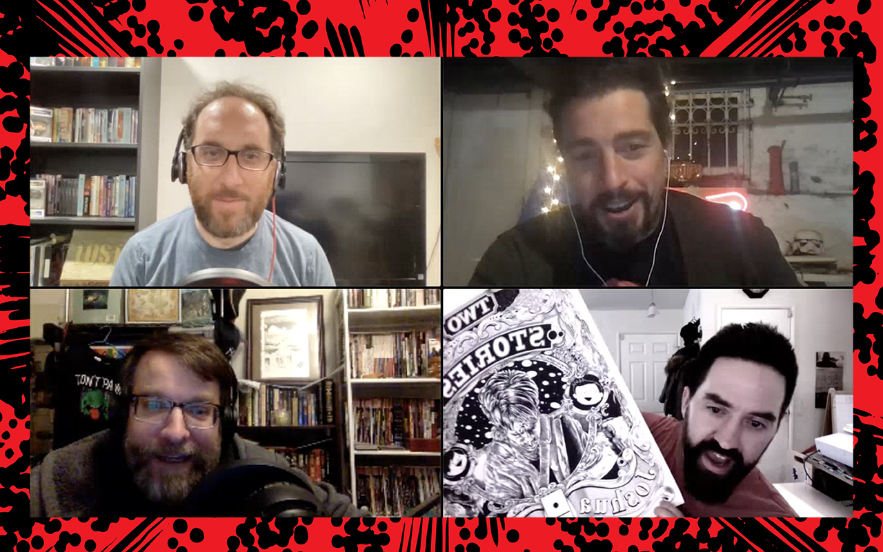 Comic Book Club: Joshua Kemble And Curtis Clow