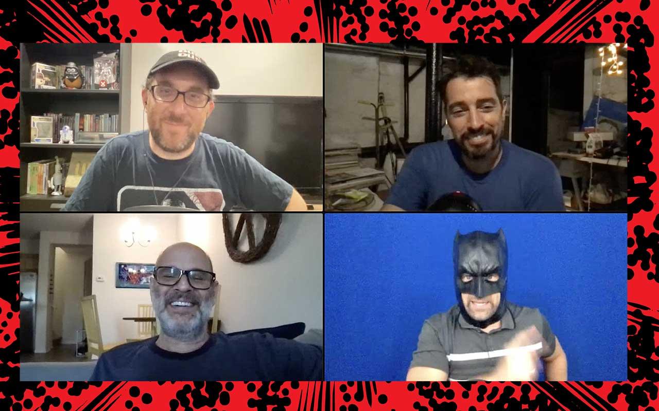 Comic Book Club Scott Zakarian and Don Jeanes
