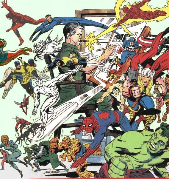 Image result for silver age marvel universe