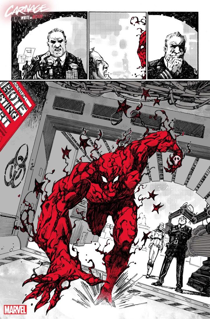Carnage: Black White Blood #1 SP 1