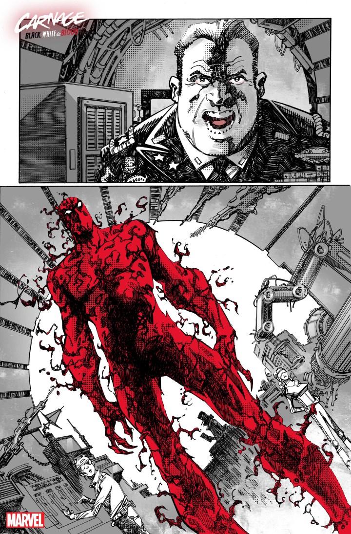 Carnage: Black White Blood #1 SP 2