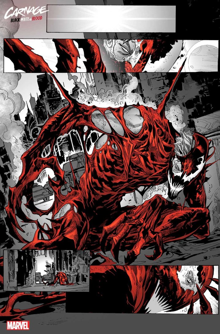 Carnage: Black White Blood #1 SP 5