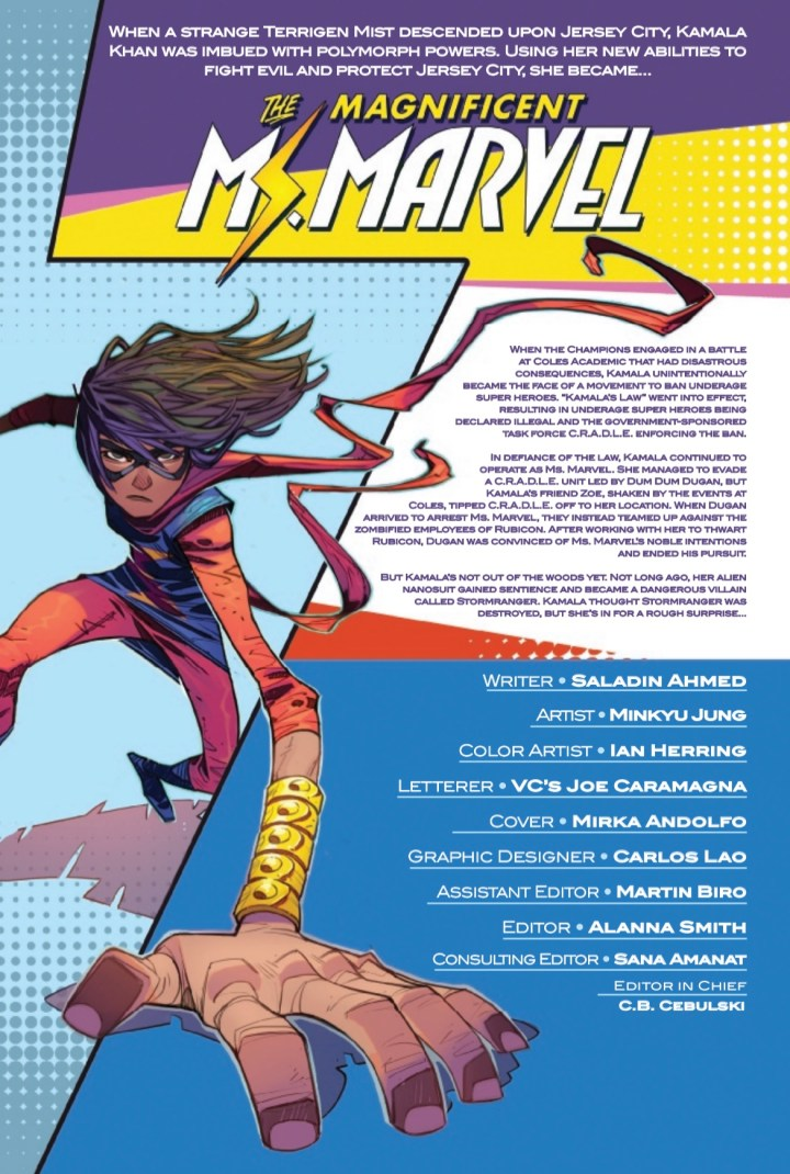 Magnificent Ms. Marvel #18 Page 1