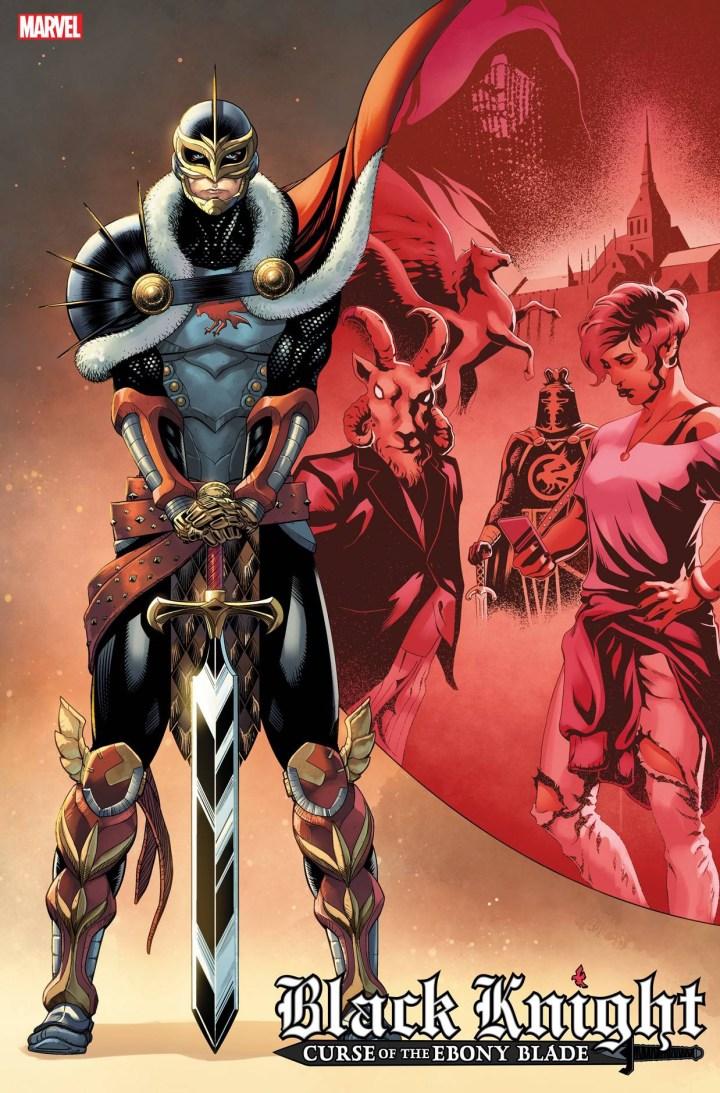 Black Knight: Curse of the Ebony Blade #1 Cover 2