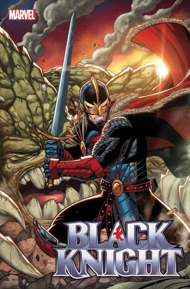 Black Knight: Curse of the Ebony Blade #1 Cover 5