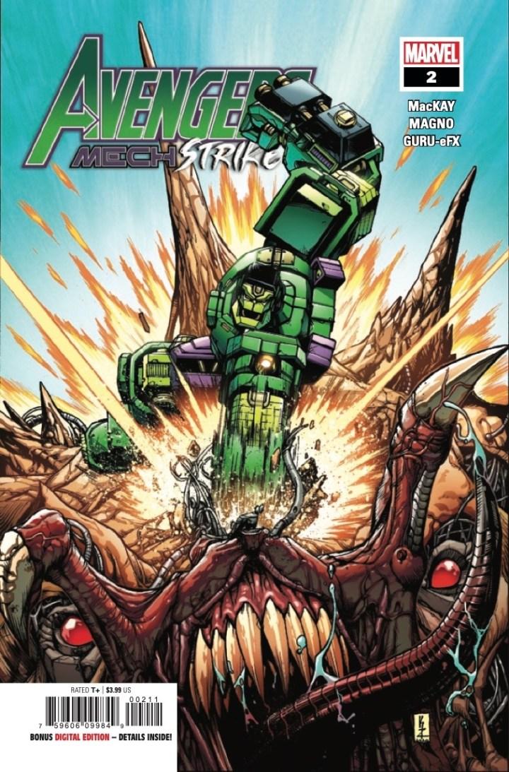 Avengers Mech Strike #2 cover 1