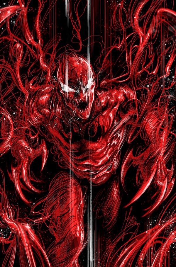 Carnage: Black White Blood #1 cover 7