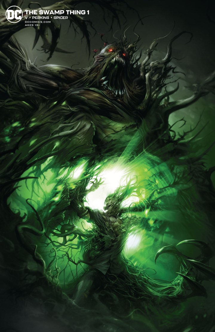 Swamp Thing #1 Preview Cover 2