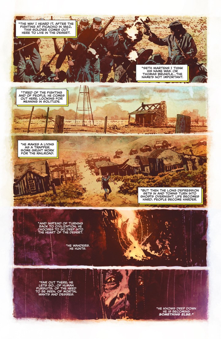Swamp Thing #1 Preview P3