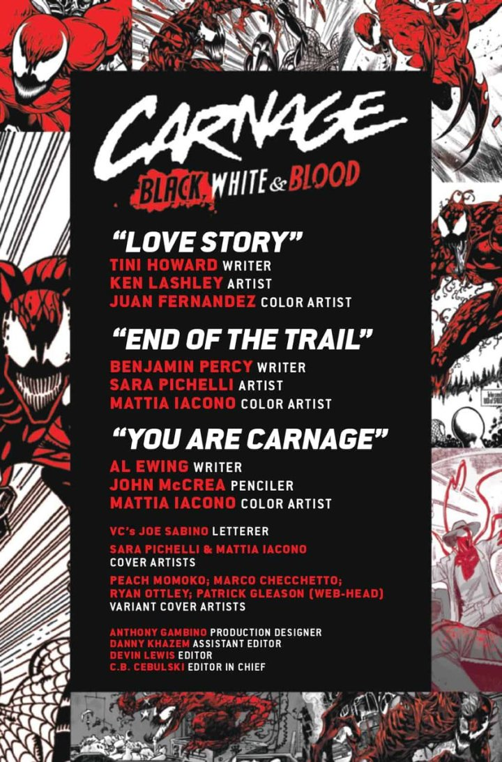Carnage BW Blood Preview #2