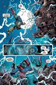 avengers mech strike #2 Thor mech preview