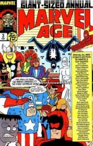 Marvel Age Annual 3 1st 4 Horsemen