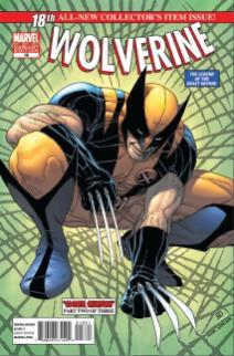 Wolverine doing Spider-Man