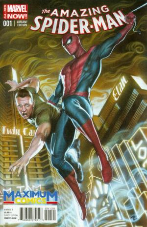 Amazing Spider-Man (2014) #1 (Maximum Comics Adi Granov variant)