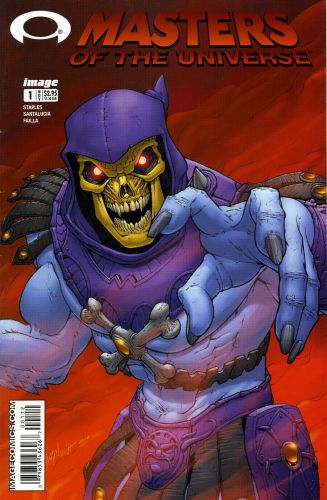 Masters of the Universe #1 2nd Print
