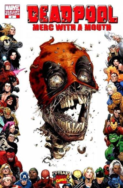 Deadpool vol 3 #2 (Tony Moore Variant)
