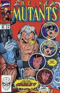 New Mutants #87 1st Print (1st App Cable)