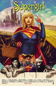 Supergirl #40 (Wizard of Oz tribute variant)
