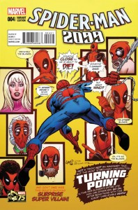 Spider-Man 2099 #4 (Deadpool Variant)