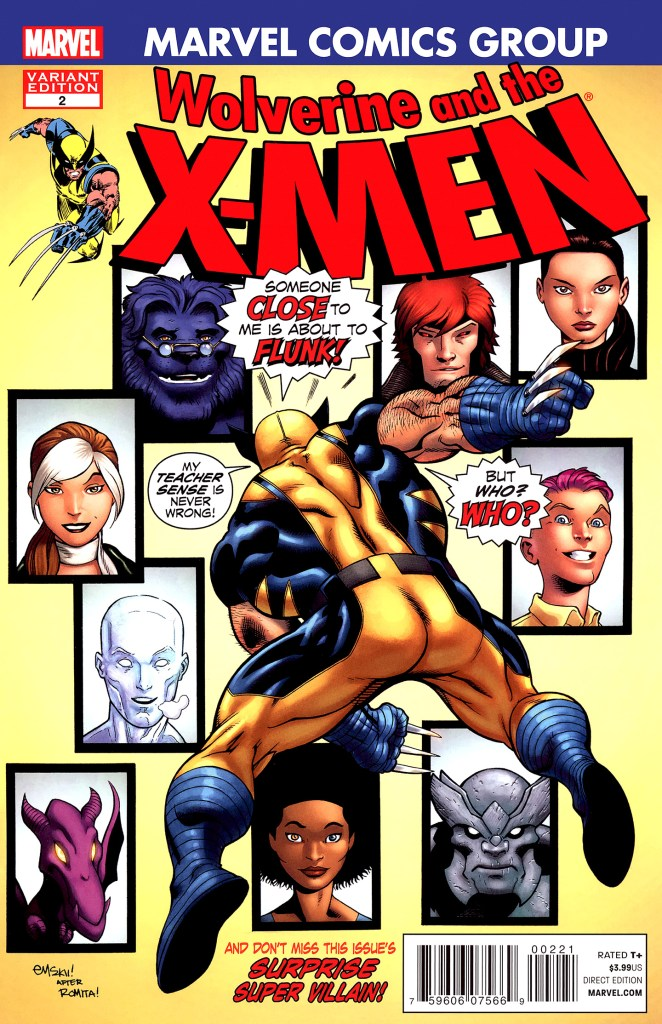 Wolverine and the X-men #2 (Marvel 50th Anniversary Variant)