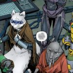 The Original Art Of That Last Page In Teenage Mutant Ninja Turtles #44  – [SPOILERS!]