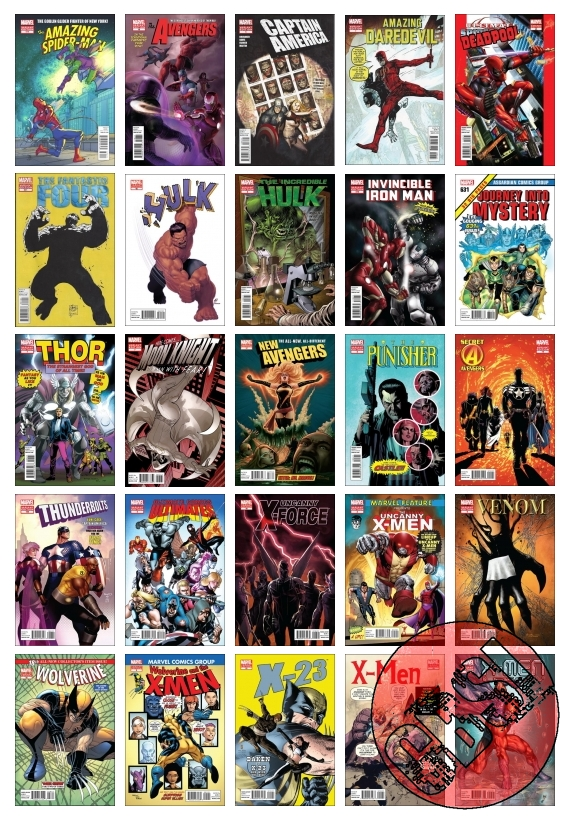 MArvel 50th Anniversary Variant Cover Gallery