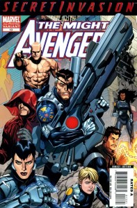 Mighty Avengers #13 2nd Printing