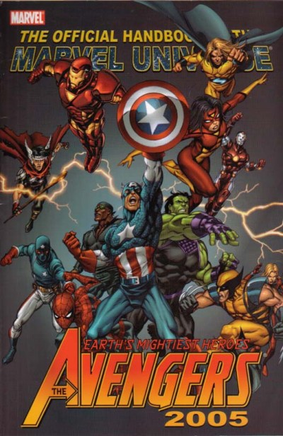 Official Handbook of the Marvel Universe: Avengers 2005