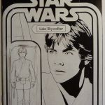 STAR WARS #1 C2E2 LUKE SKYWALKER SKETCH RRP EXCLUSIVE
