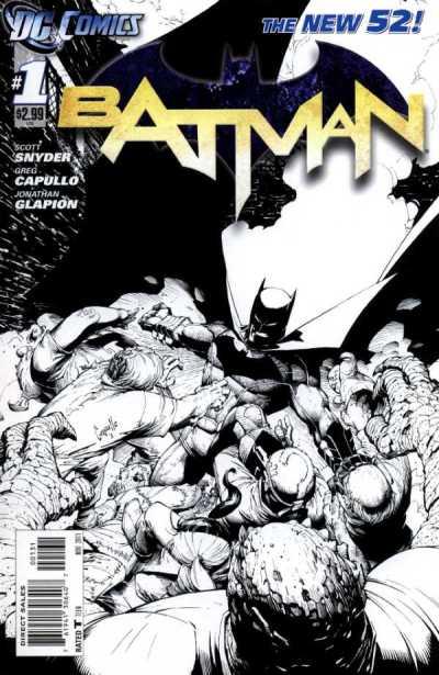 BATMAN #1 Sketch