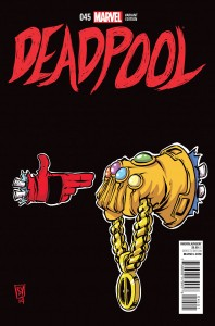 Deadpool #45 (Run the Jewels 1:50 Variant)