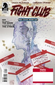 FCBD 2015 Dark Horse: Fight Club / The Goon / The Strain
