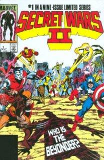 Secret Wars II Omnibus (Byrne cover)