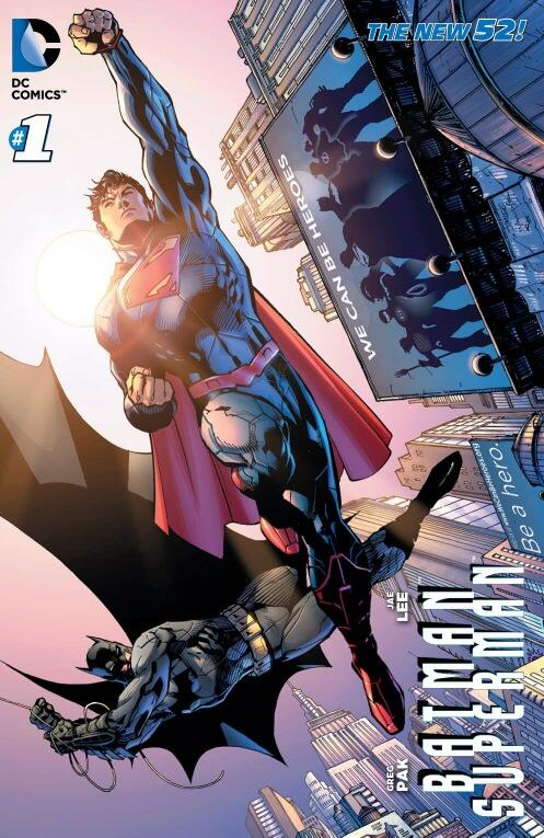 Batman / Superman #1 We Can Be Heroes Variant