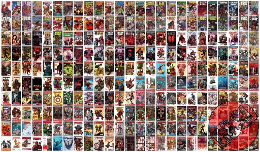 Deadpool 250 cover mosaic